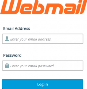 Prisijungimas prie Webmail